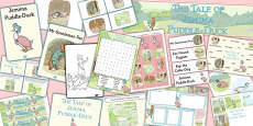 The Tale of Jemima Puddle-Duck Resource Pack (Beatrix Potter)