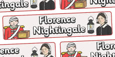 Florence Nightingale Display Banner
