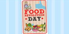 Australia - Food Revolution Day Poster
