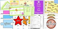 Conjunctions Resource Pack