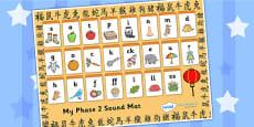 Chinese New Year Phase 2 Sound Mat - Australia