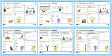 * NEW * Year 1 Spring Term 2 SPaG Activity Mats