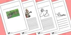The Monkey King Buddhist Story Writing Frames