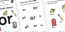 My Phase 3 Digraph Workbook (or)