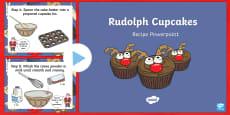 Rudolph Cupcakes Recipe Interactive PowerPoint