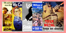 Word War Two Propaganda Posters