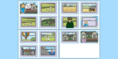 The Train Ride Story Sequencing (4 per A4)