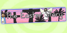 Australia - The Easter Story Display Banner