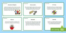 Parachute Games Activity Cards