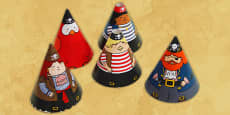 Pirate Cone Characters