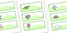 Pear Themed Editable Drawer-Peg-Name Labels