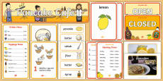 Pancake Cafe  Role Play Pack