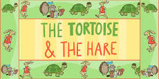 The Tortoise and The Hare Display Borders