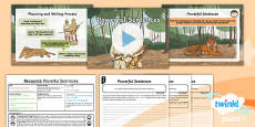 PlanIt Y6 Animals: The Tyger Lesson Pack Recounts 3