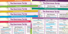 EYFS The Enormous Turnip Lesson Plan and Enhancement Ideas