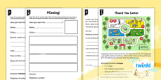 PlanIt Y1 Animals: to Support Teaching on Dear Zoo Home Learning Tasks