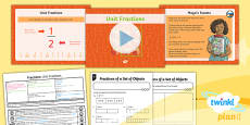 PlanIt Y3 Fractions Lesson Pack Find Fractions of a Set of Objects (1)