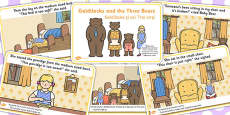 Goldilocks and the Three Bears Story EAL Romanian Translation