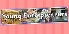 Young Entrepreneurs IPC Photo Display Banner