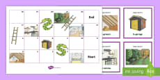 * NEW * Snakes and Ladders French
