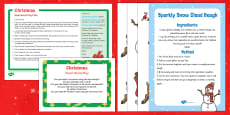 Christmas Small World Play Idea and Printable Resource Pack