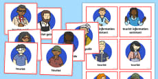Scotland Tourist Information Role Play Badges