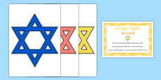 EYFS Star of David Finger Gym Resources