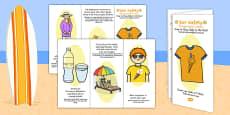 Sun Safety Leaflet Romanian Translation