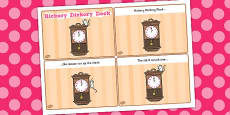 Hickory Dickory Dock Sequencing (4 per A4)