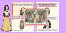Snow White and the Seven Dwarfs Story Sequencing Polish Translation