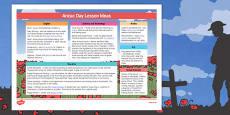 Anzac Day Lesson Ideas