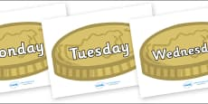 Days of the Week on Coins
