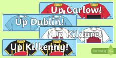 Leinster Counties GAA Display Banner