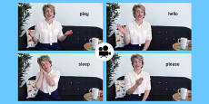 British Sign Language(BSL): Baby Sign Everyday Signs Video Clip
