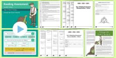 Year 3 Term 1 Fiction Reading Assessment Guided  Lesson Teaching Pack