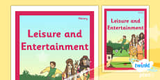 PlanIt - History UKS2 - Leisure and Entertainment Unit Book Cover