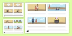 The Magic Porridge Pot Storyboard Template