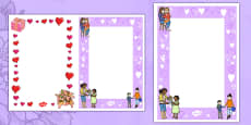 Editable Mother's Day Card Insert Template