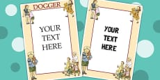 Editable Posters to Support Teaching on Dogger