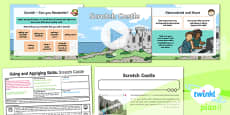 PlanIt - Computing Year 2 - Using and Applying Skills Lesson 5: Scratch Castle Lesson Pack