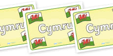 Wales Placemat