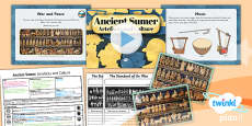 PlanIt - History UKS2 - Ancient Sumer Lesson 5: Artefacts and Culture Lesson Pack