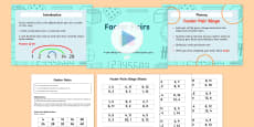 Year 4 Factor Pairs PowerPoint Differentiated Lesson Teaching Pack