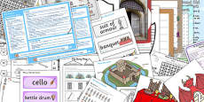 Castles KS1 Lesson Plan Ideas and Resource Pack