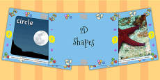 EYFS 2D Shapes Photo PowerPoint