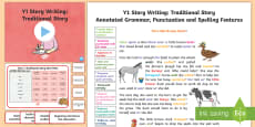 Y1 Story Writing: Traditional Model/Example Text
