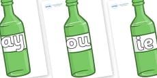 Phase 5 Phonemes on Green Bottles