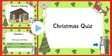 Christmas Quiz PowerPoint
