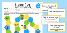 Reading Comprehension Board Game Polish Translation