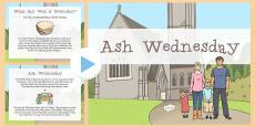 Ash Wednesday Assembly Presentation
